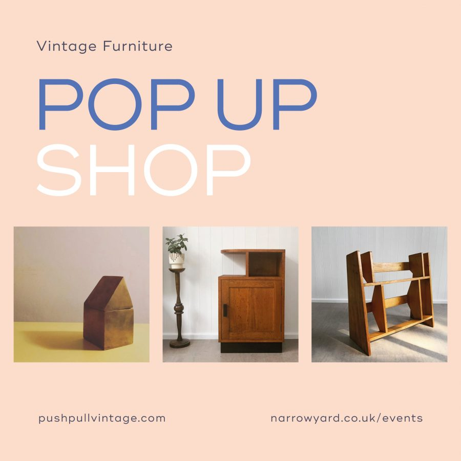 Push Pull Vintage Pop Up Shop